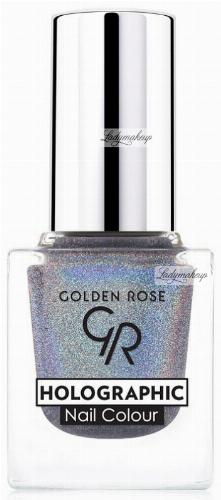 Golden Rose - HOLOGRAPHIC NAIL COLOUR - Holograficzny lakier do paznokci