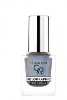 Golden Rose - HOLOGRAPHIC NAIL COLOUR - Holograficzny lakier do paznokci - 07 - 07