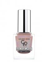 Golden Rose - HOLOGRAPHIC NAIL COLOUR - Holograficzny lakier do paznokci - 02 - 02