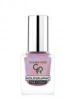 Golden Rose - HOLOGRAPHIC NAIL COLOUR - Holograficzny lakier do paznokci - 03 - 03