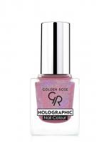 Golden Rose - HOLOGRAPHIC NAIL COLOUR - Holograficzny lakier do paznokci - 04 - 04