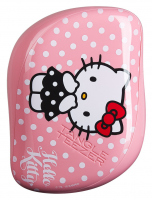 Tangle Teezer - ON-THE-GO - DETANGLING HAIRBRUSH - Kompaktowa szczotka do włosów - Hello Kitty Pink