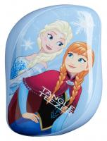 Tangle Teezer - ON-THE-GO - DETANGLING HAIRBRUSH - Kompaktowa szczotka do włosów - Kraina Lodu/Elsa i Anna