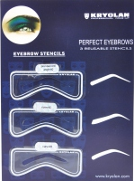 Kryolan - Eyebrow Templates - Art.3063