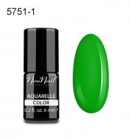 NeoNail - Aquarelle Color - Lakier Hybrydowy - 6 ml  - 5751-1 - Green Aquarelle  - 5751-1 - Green Aquarelle