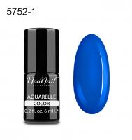 NeoNail - Aquarelle Color - Lakier Hybrydowy - 6 ml  - 5752-1 - Ocean Aquarelle  - 5752-1 - Ocean Aquarelle