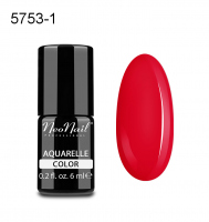 NeoNail - Aquarelle Color - Lakier Hybrydowy - 6 ml  - 5753-1 - Red Aquarelle  - 5753-1 - Red Aquarelle
