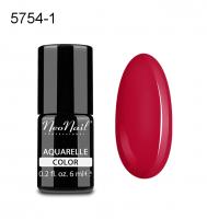 NeoNail - Aquarelle Color - Lakier Hybrydowy - 6 ml  - 5754-1 - Cherry Aquarell  - 5754-1 - Cherry Aquarell