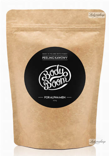 BodyBoom ​​- Coffee Scrub - FOR ALPHA MEN