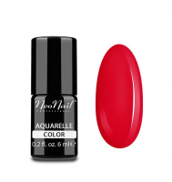 NeoNail - Aquarelle Color - Hybrid Varnish - 6 ml - 5753-1 - Red Aquarelle  - 5753-1 - Red Aquarelle