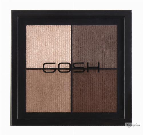 GOSH - EYE EXPRESSION - Paleta 4 cieni do powiek