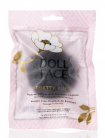 DOLL FACE - PRETTY PUFF - Natural Konjac with Bamboo Charcoal
