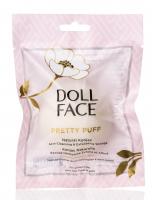 DOLL FACE - PRETTY PUFF - Natural Konjac - Gąbka oczyszczająca do mycia twarzy