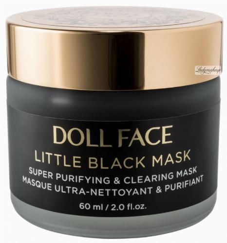 DOLL FACE - LITTLE BLACK MASK - Super Purifying & Clearing Mask - Maska oczyszczająca