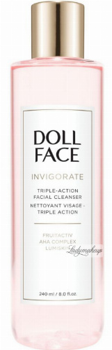 DOLL FACE - INVIGORATE - Triple-Action Facial Cleanser