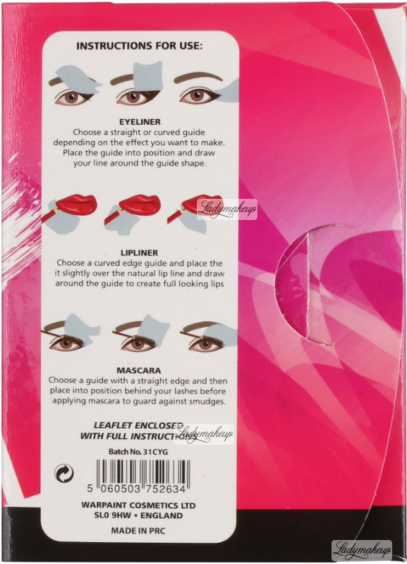 W7 The Complete Liner Guide For Eyes Lips Set Of 4 Make Up