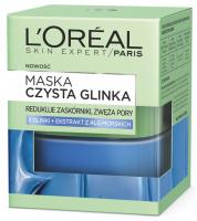L'Oréal - MASKA CZYSTA GLINKA - Redukująca zaskórniki i zwężająca pory