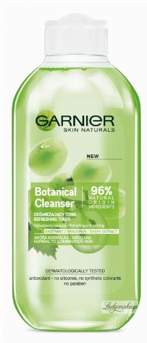 GARNIER - Botanical Cleanser - Grape Extract - Odświeżający tonik do skóry normalnej i mieszanej