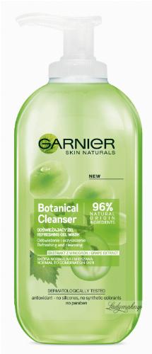 GARNIER - Botanical Cleanser - Grape Extract - Odświeżający żel do skóry normalnej i mieszanej