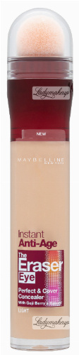 MAYBELLINE - Instant Anti-Age - The Eraser Eye - Perfect & Cover Concealer - Wygładzający korektor do twarzy