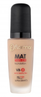 Flormar - MAT TOUCH FOUNDATION - Soft & Healthy Skin
