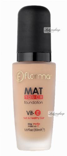 Flormar - MAT TOUCH FOUNDATION - Soft & Healthy Skin - Matujący podkład do twarzy
