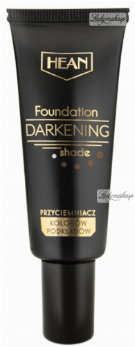 HEAN - Foundation Darkening Shade - Przyciemniacz kolorów podkładów - BROWN