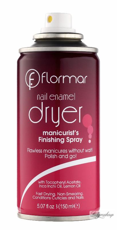 Flormar - Nail Enamel Dryer - Manicure Finishing Spray