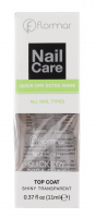 Flormar - Nail Care - QUICK DRY EXTRA SHINE - Top Coat - Nabłyszczający nawierzchniowy lakier do paznokci