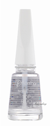 Flormar - Nail Care - TOP FLUO - Top Coat - Fluorescencyjny lakier do paznokci