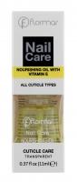 Flormar - Nail Care - NOURISHING OIL WITH VITAMIN E - Cuticle Care - Odżywczy preparat do skórek z witaminą E