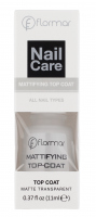 Flormar - Nail Care - MATTIFYING TOP COAT - Matte Transparent - Matujący lakier do paznokci
