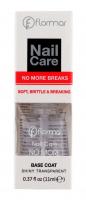 Flormar - Nail Care - NO MORE BREAKS - Base Coat - Baza zapobiegająca łamaniu się paznokci