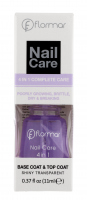 Flormar - Nail Care - 4 IN 1 COMPLETE CARE - Base Coat & Top Coat - Ochronny lakier nawierzchniowy + baza