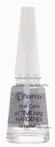 Flormar - Nail Care - ACTIVE NAIL HARDENER - Base Coat - Wzmacniająca baza do paznokci