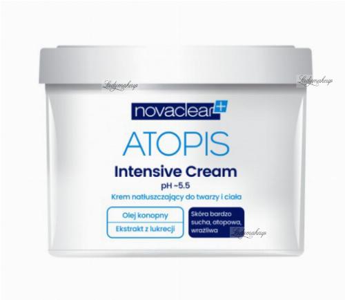NovaClear - ATOPIS - Intensive Cream - Krem natłuszczający do twarzy i ciała - 500 ml
