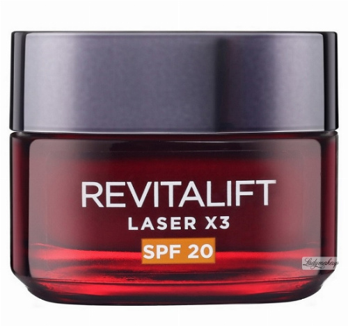 L'Oréal - REVITALIFT LASER X3 - Anti-age Day Cream SPF 20
