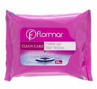 Flormar - CLEAN CARE - Face & Eye Makeup Remover Wipes for All Skin