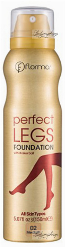 Flormar - PERFECT LEGS FOUNDATION - Rajstopy w sprayu