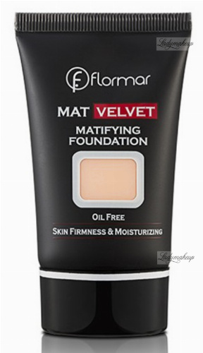Flormar - MAT VELVET MATIFYING FOUNDATION - Matujący podkład do twarzy
