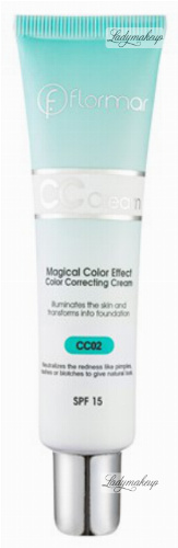 Flormar - Color Correcting Cream - Magical Color Effect - Korygujący krem CC