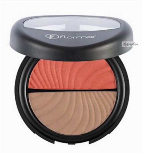 Flormar - DUO BLUSH-ON - Bronzer i róż do policzków