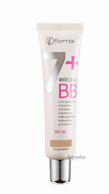 Flormar 7 white cream bb shop z for Bb shop