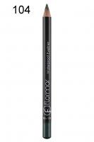 Flormar - Waterproof Eyeliner - Wodoodporny eyeliner w kredce - 104 - 104