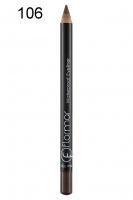 Flormar - Waterproof Eyeliner - Wodoodporny eyeliner w kredce - 106 - 106