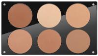 Glazel - A palette of mineral powders