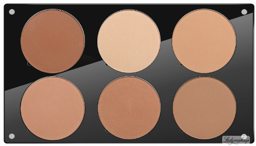 Glazel - A palette of mineral powders