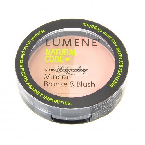 Lumene - Natural Code - Mineralny bronzer i róż