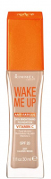 RIMMEL - WAKE ME UP Foundation - Podkład pobudzający cerę - Ref. 8304 - 201 - CLASSIC BEIGE - 201 - CLASSIC BEIGE