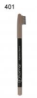 Flormar - Eyebrow Pencil - Kredka do brwii ze szczoteczką - 401 - 401